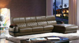 Meubles de salle de séjour de Ciff, sofa en cuir moderne (K8020)