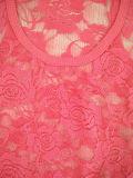 Оптовая сексуальная тенниска верхней части бака шнурка Rose цвета конфеты