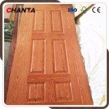 木製のベニヤの新しいデザインの外部の形成されたドアの皮