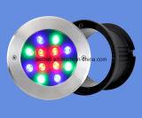 Indicatori luminosi subacquei messi del raggruppamento della STAZIONE TERMALE dell'acciaio inossidabile LED