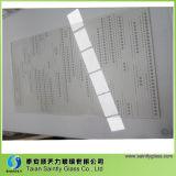 vidrio Tempered de la impresión de la pantalla de seda de 2mm-19m m para el aparato electrodoméstico