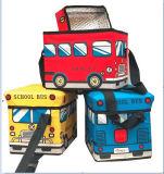 600d de moda embroma la caja plegable del refrigerador de la serie del autobús