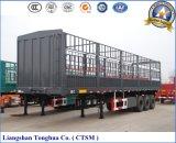 3 ejes 3-Tier Estaca / Valla semi remolque del camión traier