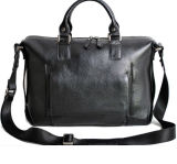 Лента плеча сумок портфеля дела неподдельной кожи человека регулируемая (RS-VM0003)