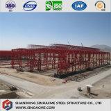 산업 작업장을%s 무거운 강철 구조물 건물