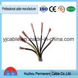 Kabel van de multi-Kernen van de Leider mm van het Aluminium van het Koper van Rvv Flexibele 1.5 2.5 4 6 10 de Vastgelopen Beklede of van het Koper met pvc