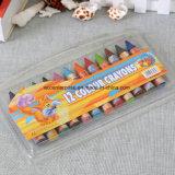 Crayones de cera no tóxicos vendedores calientes para los niños
