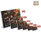 Heißes verkaufengröße A5 PS-Bildschirmanzeige-Bekanntmachen und Ausstellung-Karten-Standplatz