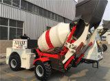 Misturador concreto móvel com carregamento do auto de China na venda