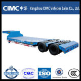 SaleのためのCimc重義務4 Axles Gooseneck Detachable Type Front Load Low Bed Truck Trailer