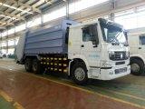 De Vrachtwagen van de Pers van het afval