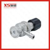 Válvula aséptica del muestreo de la esterilidad del acero inoxidable SS316L mini