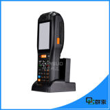 De Mobiele 3G Handbediende EindScanner 1d/2D Barode van lage Kosten met Printer Themal