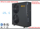 12.8-18.8KW EVIのヒートポンプに水をまく低いambeintの温度領域の(-25Cに低い)高く効率的な空気