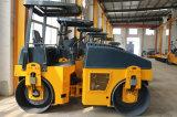 China rodillo de camino vibratorio de la maquinaria del camino de 4.5 toneladas