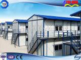 一時生活(FLM-H-001)のためのプレハブの鉄骨構造の家