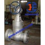 API/DIN/JIS forjou a válvula de porta de aço da central eléctrica da flange