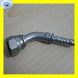 Verstemmte hydraulische Befestigung 45 Grad-metrisches Weibchen 24 Grad-Kegel-O-Ring L.T. DIN3865 20441 befestigend