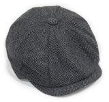 Берета Newsboy 8-Panel зимы способа шлем Casquette теплого Unisex напольный