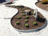Jardim de aço tira de afiação usada galvanizada do gramado