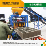 Tijolo oco concreto Semi automático que faz a planta Qt4-24