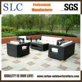 PEの藤のソファーまたは現代柳細工のソファーまたは屋外の柳細工のソファーはセットした(SC-B8218)