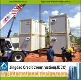 Дома контейнера стальной структуры перевозкы груза панельного дома Prefab живущий модульные