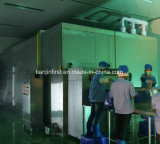 Congelador fluidificado de IQF para vegetais e marisco das frutas