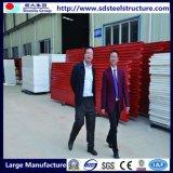 Helles Rahmen-Stahlkonstruktion-im Freienabdeckung-Haus hergestellt in China