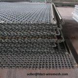 treillis métallique serti par maille carrée en acier d'écran de vibration 65mn/45mn