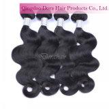 加工されていないバージンボディ波の人間の毛髪の拡張ブラジル人の毛