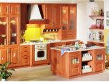 Gabinete de cozinha moderno de venda quente da porta do PVC