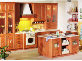 Module de cuisine moderne de vente chaud de porte de PVC