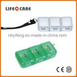 Buena caja de la píldora de los regalos de la promoción con el Keyring