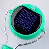 7つのLED太陽動力を与えられたLEDのハングのランタンの照明