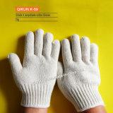 Связанные 32-52g перчатки хлопка абажура K-57 работая