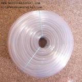 Pipe en plastique élastique de transport claire inodore de PVC de conduite d'eau