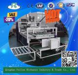 Pliage de cartons ondulé semi-automatique de carton collant la machine