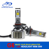 G6 9006 DEL Headlight 30W 3200lm pour Car Headlight