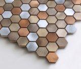 Nuevo mosaico del metal del hexágono 2017