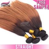 ペルーのバージンのまっすぐなOmbreの毛#613の人間の毛髪