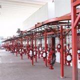 Cadena de producción del barnizado electrostático de la fábrica de China