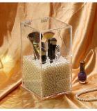 De duidelijke Acryl Kosmetische Doos van de Opslag van de Borstel van de Houder van de Borstel van de Make-up van de Organisator van de Borstel Acryl Acryl