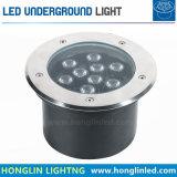 Di Epistar del chip di alto potere mini LED indicatore luminoso sotterraneo caldo della lampada di bianco DC24V 1W