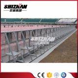 Barrera de aluminio del control de muchedumbre de la barricada temporal del concierto de la alta calidad