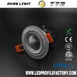 중국에 있는 Downlight를 위한 Ty2 고품질 20W LED Downlight Trimless Downlight 봄 클립