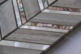Shell de las nuevas ventas y mosaico de agua dulce del mármol