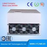 V6-H 110kw - HDへの3pHの可変的か軽いロードアプリケーションの使用AC駆動機構の入力電圧三相50/60Hz 90