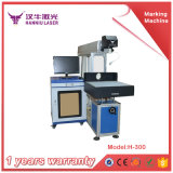 Máquina de alumínio da marcação do metal dos aços inoxidáveis do laser da fibra