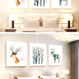 صنع وفقا لطلب الزّبون [أنيمل ويل] نوع خيش صورة زيتيّة جدار صورة لأنّ بيتيّ, مكتب, فندق زخرفة